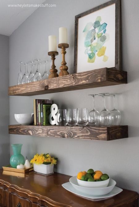cool-diy-dining-room-floating-shelves-1