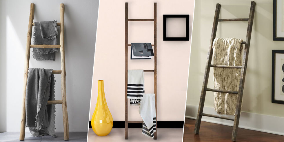 Blanket Ladder Shelves At Home With Jordan